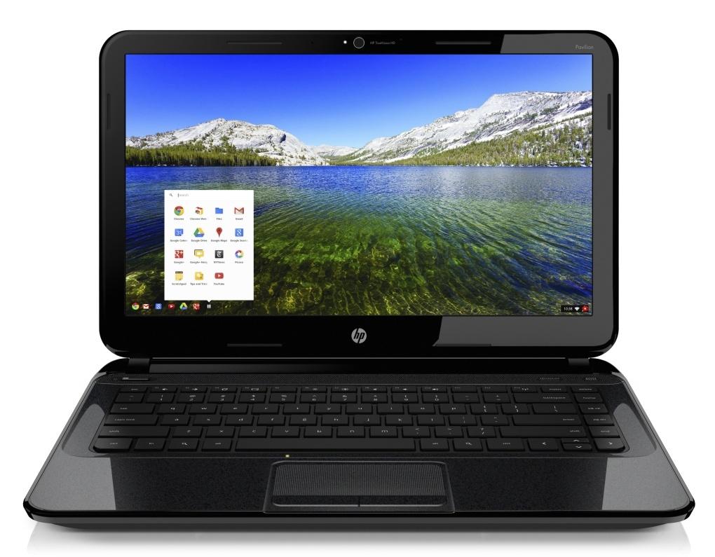 HP Pavilion 14 Chromebook front facing