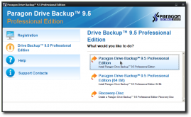 Paragon Drive Backup Profesional gratuit pana pe 4 Mai