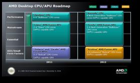 AMD anunta seria de procesoare pentru anul 2011-2012