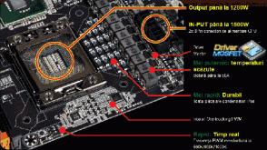 Placa de baza GIGABYTE X58A-OC capabila sa duca un procesor i7 990X in 7.1 GHz