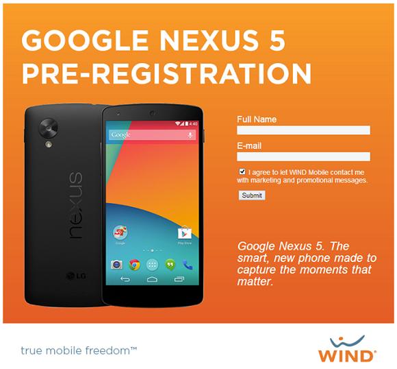 Nexus 5 pre comanda