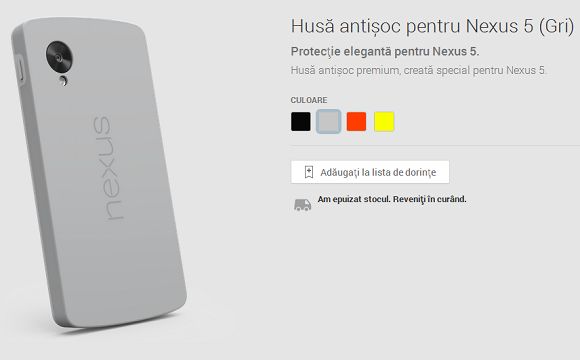 Husa antisoc Nexus 5